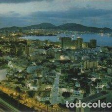 Postales: POSTAL DE CANARIAS. LAS PALMAS DE GRAN CANARIA. VISTA NOCTURA P-CAN-743. Lote 171103440