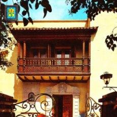 Postales: LA LAGUNA - TENERIFE -BALCÓN TÍPICO CANARIO- (CIAL. ESCUDO DE ORO Nº 154) SIN CIRCULAR / P-5485. Lote 171329859