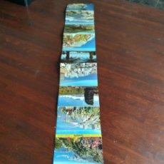 Postales: RECUERDO DE TENERIFE. COLECCIÓN DE 10 TARJETAS POSTALES EN FORMATO DESPLEGABLE, AÑOS 60´S. Lote 171485073