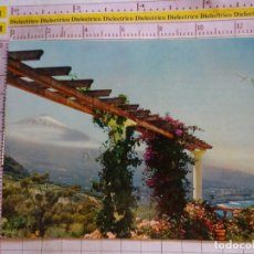 Postais: POSTAL DE TENERIFE. AÑO 1963. VALLE DE LA OROTAVA, TEIDE Y FLORES. 1568. Lote 171597759