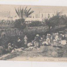 Postales: POSTAL. LAS PALMAS. LAVANDERAS. CANARIAS. . Lote 171724653