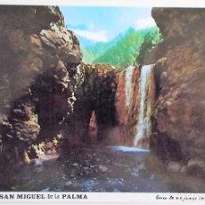 Postais: ISLA DE SAN MIGUEL DE LA PALMA. 116 CASCADA DE COLORES. CALDERA DE TABURIENTE. PARQUE NATURAL. ED. D. Lote 172006033