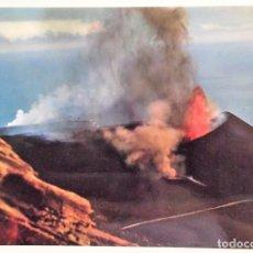 Postais: ISLA DE LA PALMA. 1 VOLCÁN DE TENEGUÍA. ED. RO-FOTO. USADA CON SELLO. COLOR. Lote 172006223