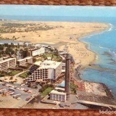 Postales: GRAN CANARIA - FARO DE MASPALOMAS. Lote 172328507