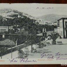 Postales: POSTAL DE LAS PALMAS, BARRANCO Y PUENTE, ED. PEÑATE & CO. N.3, CIRCULADA, SIN DIVIDIR.. Lote 173190308