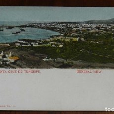 Postales: POSTAL DE SANTA CRUZ DE TENERIFE, GENERAL VIEW, ED. NOBREGA´S ENGLISH, N.1817, NO CIRCULADA.. Lote 173190552