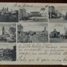 Postales: POSTAL DE LAS PALMAS, ED. PAPELERIA VDA. VERDÚ E HIJAS, CIRCULADA, REVERSO SIN DIVIDIR.. Lote 173192244