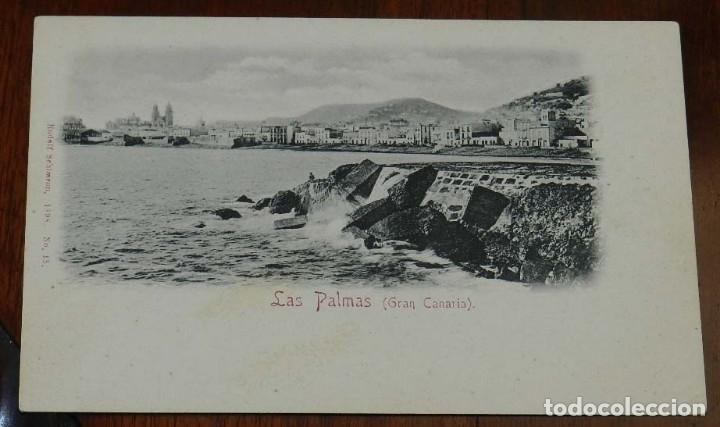 POSTAL DE LAS PALMAS (GRAN CANARIA), Nº 15. RUDOLF SCHIMRON, NO CIRCULADA, SIN DIVIDIR. (Postales - España - Canarias Antigua (hasta 1939))
