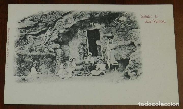 POSTAL DE LAS PALMAS (GRAN CANARIA), Nº 23. RUDOLF SCHIMRON, NO CIRCULADA, SIN DIVIDIR. (Postales - España - Canarias Antigua (hasta 1939))