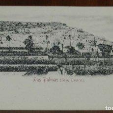 Postales: POSTAL DE LAS PALMAS (GRAN CANARIA), Nº 17. RUDOLF SCHIMRON, NO CIRCULADA, SIN DIVIDIR.. Lote 173194413