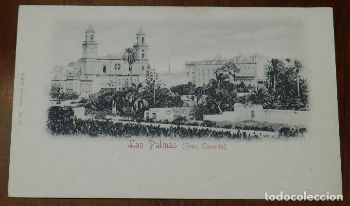 POSTAL DE LAS PALMAS (GRAN CANARIA), Nº 13. RUDOLF SCHIMRON, NO CIRCULADA, SIN DIVIDIR. (Postales - España - Canarias Antigua (hasta 1939))