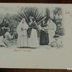 Postales: POSTAL LAS PALMAS, MUJERES CANARIAS, Nº 5. ED. RUDOLF SCHIMRON, NO CIRCULADA, SIN DIVIDIR.. Lote 173195305