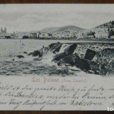 Postales: POSTAL DE LAS PALMAS (GRAN CANARIA), Nº 15. RUDOLF SCHIMRON, CIRCULADA, SIN DIVIDIR.. Lote 173199235