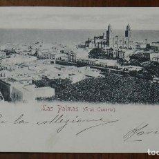 Postales: POSTAL DE LAS PALMAS (GRAN CANARIA), Nº 12. RUDOLF SCHIMRON, CIRCULADA, SIN DIVIDIR.. Lote 173199338