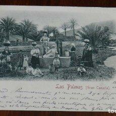 Postales: POSTAL LAS PALMAS, Nº 4. ED. RUDOLF SCHIMRON, CIRCULADA, SIN DIVIDIR.. Lote 173199528