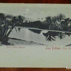 Postales: POSTAL DEL HOTEL SANTA CATALINA, LAS PALMAS, GRAN CANARIA, ED.RUDOLF SCHIMRON, N. 22, NO CIRCULADA.. Lote 173199937