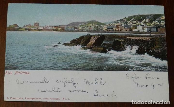 POSTAL DE LAS PALMAS, PHOTO J. PERESTRELLO, N. 2, NO CIRCULADA. (Postales - España - Canarias Antigua (hasta 1939))
