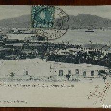 Postales: POSTAL DE GRAN CANARIA, ISLETA Y ALREDEDORES DEL PUERTO DE LA LUZ, GRAN CANARIA, EDIT. MARIA QUESADA. Lote 173360333