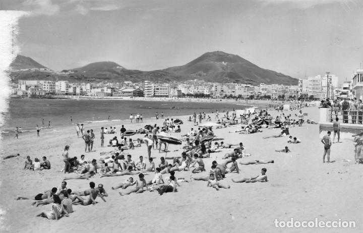 LAS PALMAS DE GRAN CANARIA.- PLAYA DE LAS CANTERAS (Postales - España - Canarias Moderna (desde 1940))