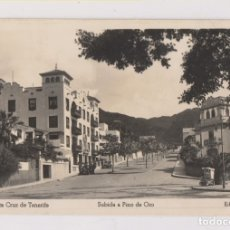 Postales: POSTAL. 75. SANTA CRUZ DE TENERIFE. SUBIDA A PINO DE ORO. CANRIAS. Lote 173877487