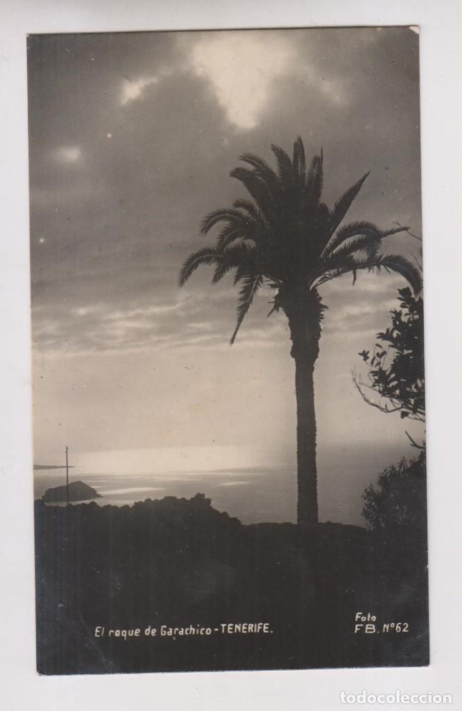POSTAL. EL ROQUE DE GARACHICO. TENERIFE. CANARIAS (Postales - España - Canarias Moderna (desde 1940))