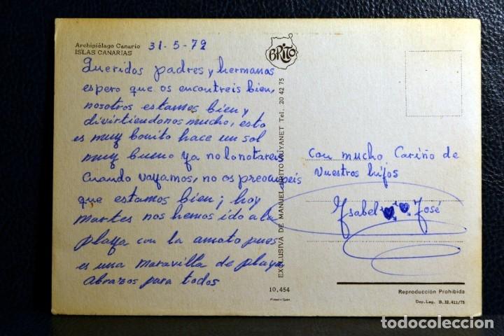Postales: ARCHIPIÉLAGO CANARIO - ISLAS CANARIAS - BRITO - 10454 - Foto 2 - 174328522
