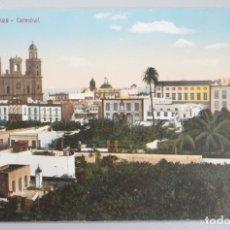 Postales: POSTAL. LAS PALMAS. CATEDRAL. RODRIGUEZ BROS. SC . Lote 174469095