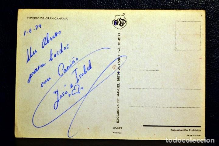 Postales: TIPISMO DE GRAN CANARIA - BRITO - 10519 - Foto 2 - 174512238