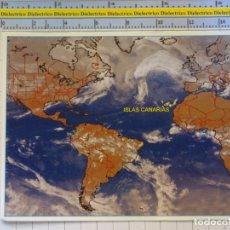 Postais: POSTAL DE LAS ISLAS CANARIAS. AÑO 2000. MAPA CLIMÁTICO. 0. Lote 175219809
