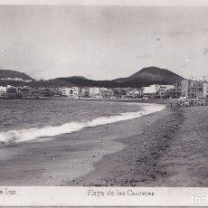 Postales: PUERTO DE LA LUZ (CANARIAS) - PLAYA DE LAS CANTERAS. Lote 175307650
