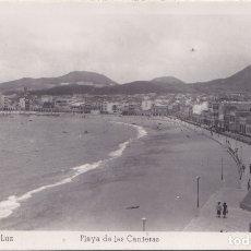 Postales: PUERTO DE LA LUZ (CANARIAS) - PLAYA DE LAS CANTERAS. Lote 175307722
