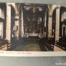 Postales: ANTIGUA POSTAL TENERIFE PUERTO CRUZ INTERIOR DE LA IGLESIA . Lote 175316522
