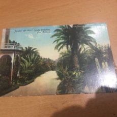 Postales: LAS PALMAS JARDÍN DEL HOTEL SANTA CATALINA. Lote 175897405