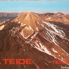 Postales: POSTAL N°10 EL TEIDE TENERIFE. Lote 175955739