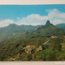 Postales: CRUZ DE TEJEDA GRAN CANARIA PANORAMICA POSTAL. Lote 176091458