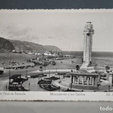 Postales: ANTIGUA POSTAL SANTA CRUZ DE TENERIFE Nº 69 MONUMENTO A LOS CAIDOS .- EDICIONES ARRIBAS . Lote 176225707
