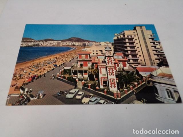 GRAN CANARIA - POSTAL LAS PALMAS - PLAYA DE LAS CANTERAS (Postales - España - Canarias Moderna (desde 1940))