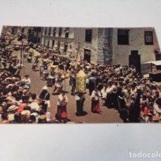 Postales: TENERIFE - POSTAL LA LAGUNA - ROMERÍA DE SAN BENITO. Lote 176353875
