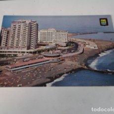 Postales: TENERIFE - POSTAL PUERTO DE LA CRUZ - AVENIDA DE COLÓN E INSTALACIONES HOTELERAS. Lote 176355988
