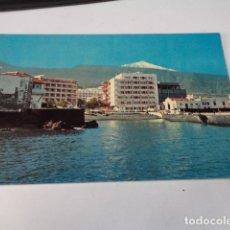 Postales: TENERIFE - POSTAL PUERTO DE LA CRUZ - PUERTO CON EL TEIDE. Lote 176368744