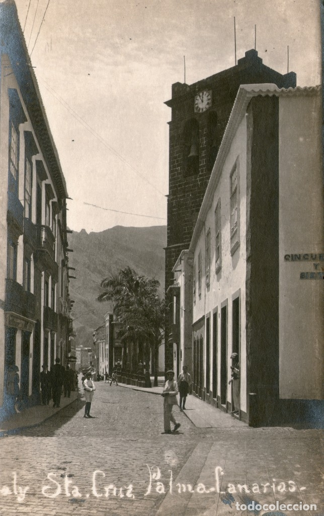 SANTA CRUZ DE LA PALMA. ISLA DE LA PALMA. CANARIAS. POSTAL FOTOGRAFICA (Postales - España - Canarias Antigua (hasta 1939))
