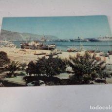 Postales: TENERIFE - POSTAL SANTA CRUZ - VISTA PARCIAL DEL PUERTO. Lote 176376638
