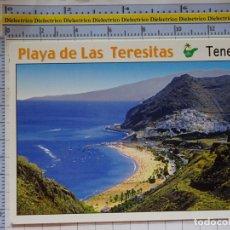 Cartes Postales: POSTAL DE TENERIFE. AÑO 2002. PLAYA DE LAS TERESITAS. 2291. Lote 177211650