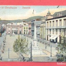 Postales: TENERIFE PLAZA DE LA CONSTITUCION., CIRCULADA 1903, VER FOTOS. Lote 177293169