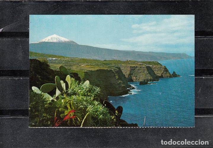TENERIFE. PAISAJE CON TEIDE Y MAR (Postales - España - Canarias Moderna (desde 1940))