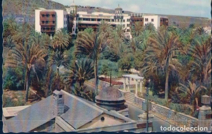 POSTAL LAS PALMAS DE GRAN CANARIA - HOTEL SAMNTA CATALINA - 35 EDITORIAL CANARIA (Postales - España - Canarias Moderna (desde 1940))