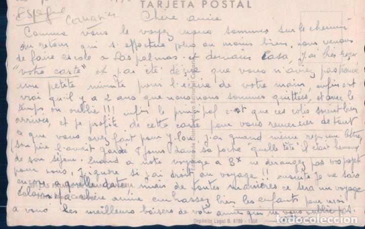 Postales: POSTAL LAS PALMAS DE GRAN CANARIA - HOTEL SAMNTA CATALINA - 35 EDITORIAL CANARIA - Foto 2 - 178231306