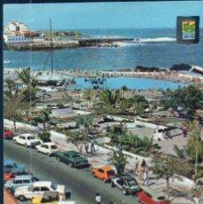 Postales: POSTAL PUERTO DE LA CRUZ TENERIFE DETALLE DE LA AVENIDA COLON- ESCUDO DE ORO Nº75 - CIRCULADA. Lote 178802421