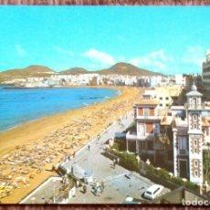 Postales: LAS PALMAS DE GRAN CANARIA - PLAYA DE LAS CANTERAS. Lote 179088437