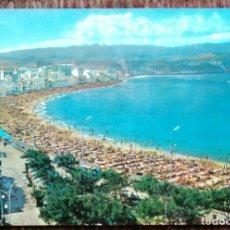 Postales: LAS PALMAS DE GRAN CANARIA - PLAYA DE LAS CANTERAS. Lote 179088791